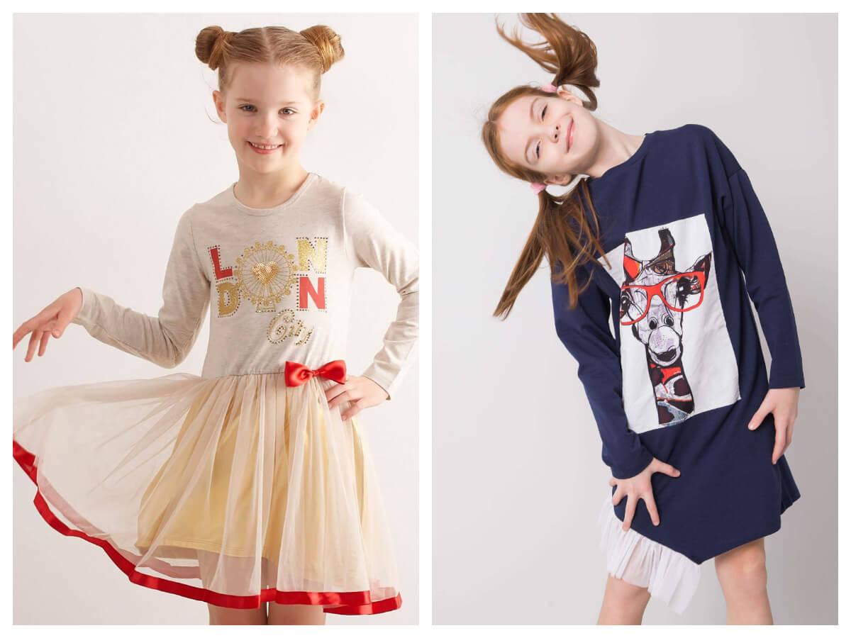 Sukienki dla dziewczynek w ebutik.pl