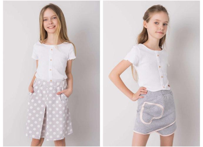 modne bawełniane ubrania dziecięce