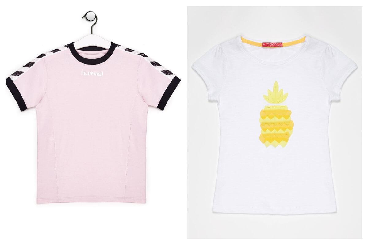 Bawełniane t-shirty dziecięce na lato dla chłopca i dziewczynki