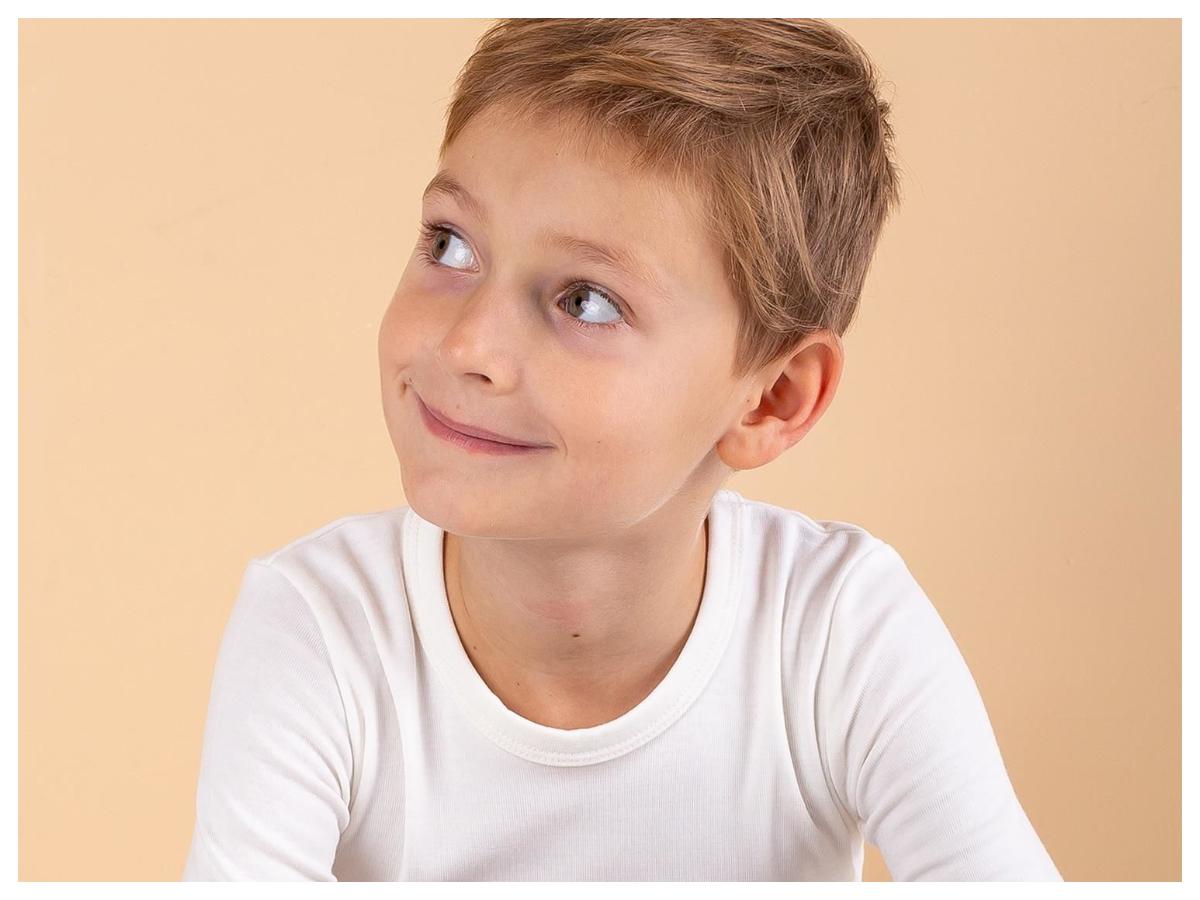 Bluzki dla chłopca białe