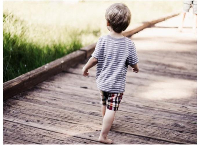 Szorty dla chłopca na lato w kratę