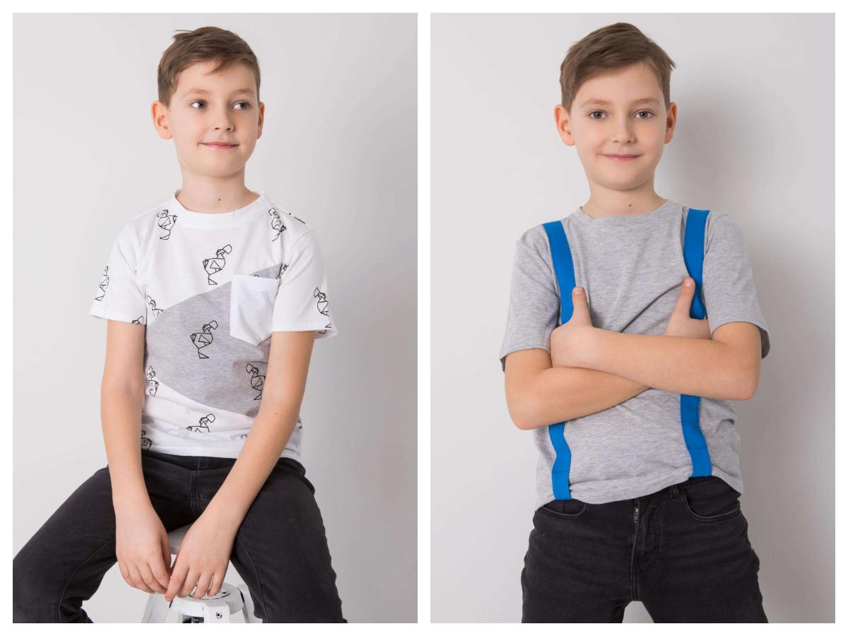 Ubrania do szkoły dla dzieci dla chłopca