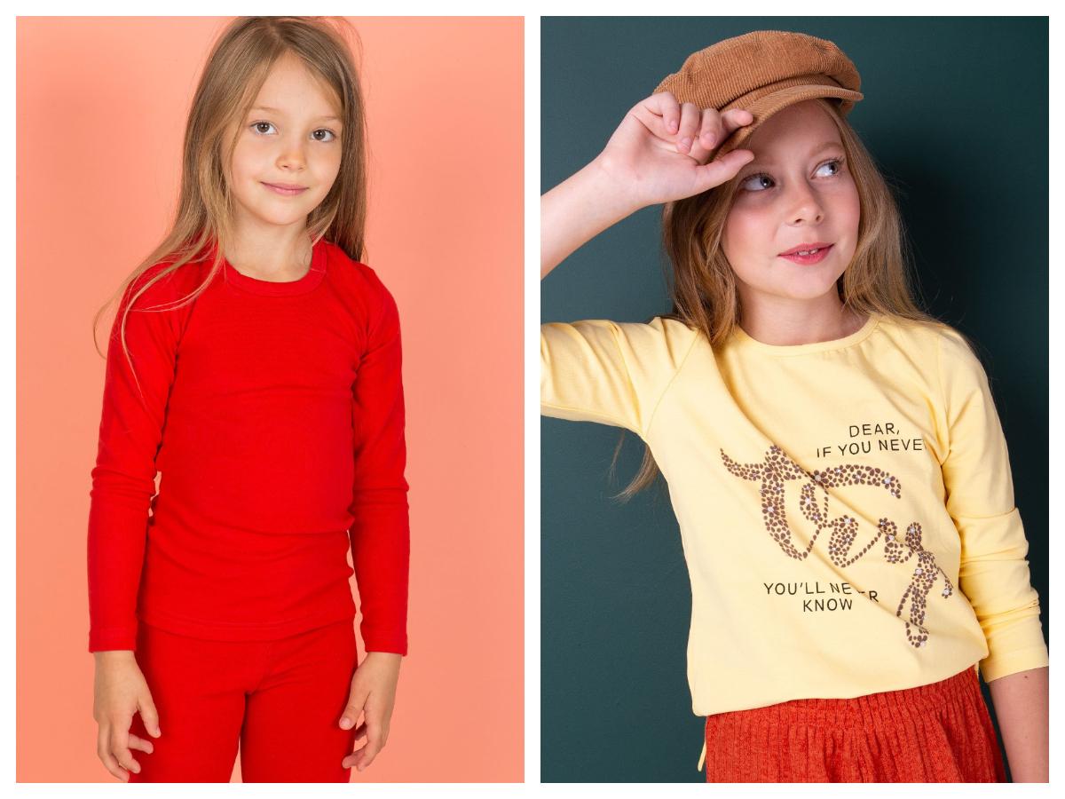 Ubrania do szkoły dla dzieci bawełniane